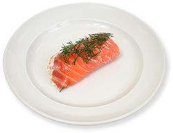 Lakse/wasabi-ruller